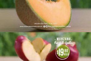Comercial Mexicana frutas y verduras del campo 16 y 17 de mayo 2017