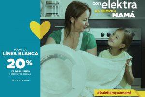 Elektra 20% de descuento en línea Blanca del 2 al 8 de mayo 2017