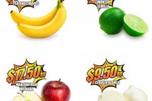 Frutas y Verduras Chedraui 30 y 31 de Mayo de 2017