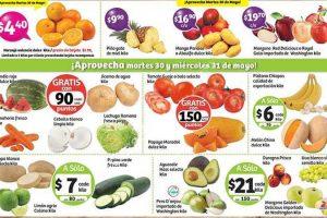 Frutas y Verduras Soriana 30 y 31 de Mayo de 2017