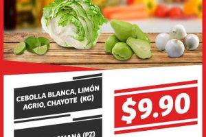 Frutas y Verduras Soriana Mercado del 30 de mayo al 1 de junio 2017