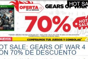 Ofertas de Hot Sale 2017 en Gamers