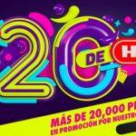 HEB Ofertas Los 20 de HEB del 19 al 25 de mayo