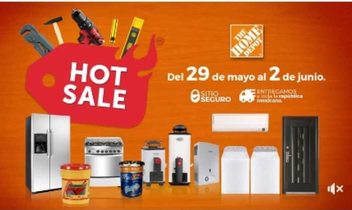 14dc0f1f5885b Ofertas de Hot Sale 2017 en Home Depot - Promociondescuentos