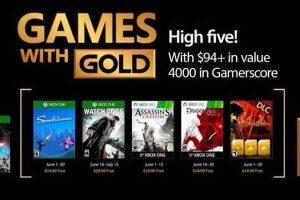 Juegos Games With Gold para Xbox One y Xbox 360 Junio 2017