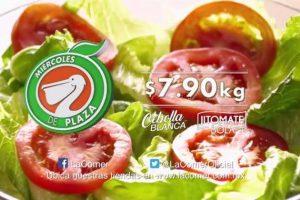 Miércoles de Plaza La Comer Frutas y Verduras 17 de Mayo 2017