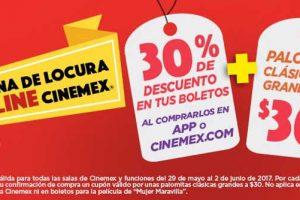 Promociones de Hot Sale 2017 en Cinemex