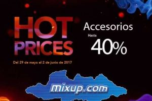 Ofertas de Hot Sale 2017 en Mixup