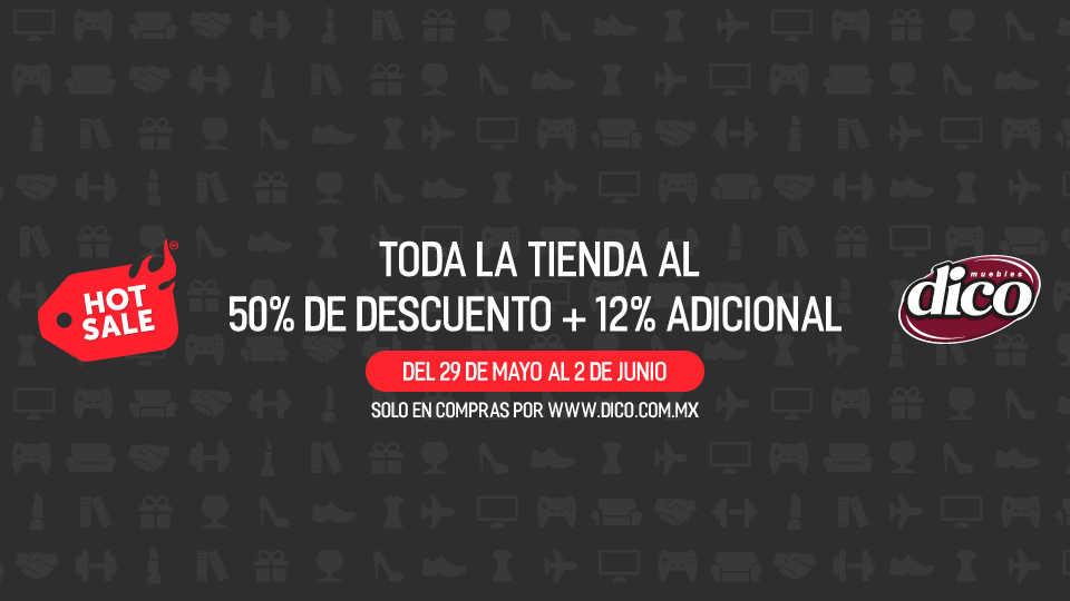 Ofertas de hot sale 2017 en muebles dico promociones y for Compra de muebles por internet