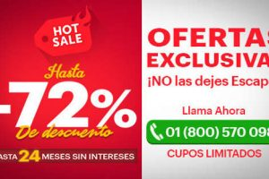 Ofertas de Hot Sale 2017 en PriceTravel
