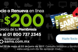 Ofertas de Hot Sale 2017 en Sam's Club