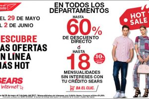 Ofertas de Hot Sale 2017 en Sears