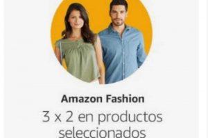 Hot Sale Amazon 3×2 en ropa y calzado seleccionados