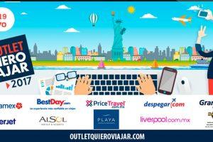 Outlet Quiero Viajar 2017 del 15 al 19 de mayo