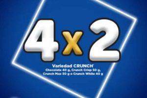 Oxxo 4×2 en chocolates Crunch todos los miércoles