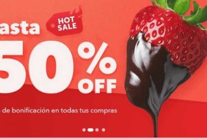 Ofertas de Hot Sale 2017 en Rappi