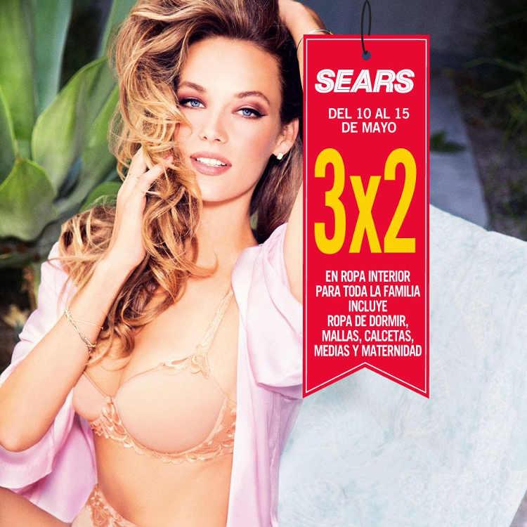 1b6d07104 Sears ofertas 3×2 en ropa interior del 10 al 15 de mayo del 2017