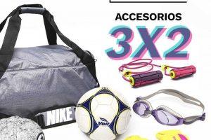 Semana Deportiva Osöm 3×2 en Accesorios Deportivos