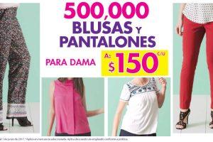 Suburbia blusas y pantalones para dama a $150 cada una