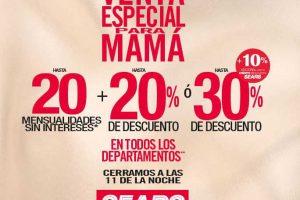 Venta Especial Sears para Mamá 5 y 6 de mayo de 2017