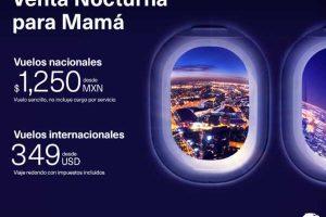 Venta Nocturna para Mamá Aeroméxico del 8 al 10 de mayo