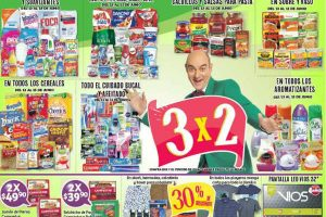 Soriana 3x2 en todos los cereales, detergentes