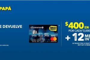 Best Buy $400 en cupones por cada $2,000 de compra con Citibanamex