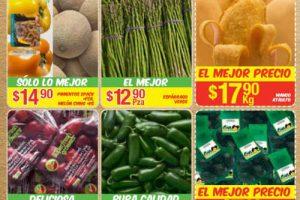 Bodega Aurrera frutas y verduras tiánguis de mamá lucha 16 al 22 junio