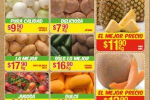 Bodega Aurrera frutas y verduras tiánguis de mamá lucha 2 al 8 de junio