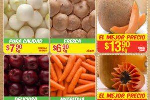 Bodega Aurrera frutas y verduras tiánguis de mamá lucha del 30 de junio al 6 de julio