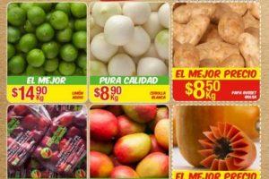 Bodega Aurrera frutas y verduras del 9 al 15 de junio