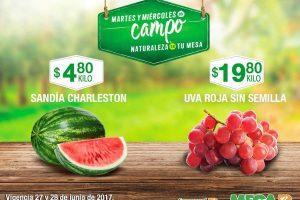 Comercial Mexicana frutas y verduras del campo 27 y 28 de Junio 2017