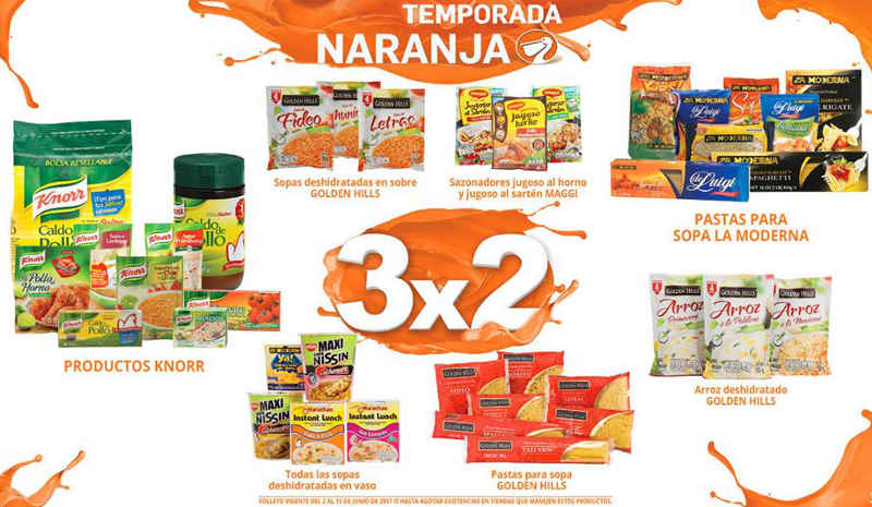 La Comer: Folleto Temporada Naranja (Julio Regalado) del 2