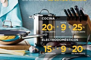 Palacio de Hierro 15% de descuento en electrodomésticos