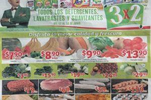 Frutas y Verduras Soriana Mercado y Soriana Express del 13 al 15 Junio