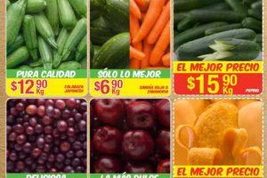 Bodega Aurrera frutas y verduras tiánguis de mamá lucha del 23 al 29 de junio