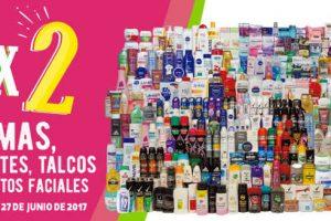 Julio Regalado 2017 3×2 en cremas, desodorantes, talcos y tratamientos faciales