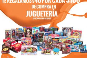 La Comer Temporada Naranja $40 de descuento por cada $100 en Juguetería