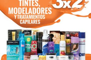Temporada Naranja La Comer 3×2 en Tintes, Modeladores y Tratamientos Capilares