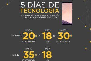 Palacio de Hierro 5 Días de Tecnología 22 al 26 de junio 2017