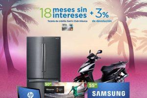 Sams Club 18 meses sin intereses + 3% de bonificación del 2 al 5 de Junio