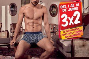 Sears 3×2 en ropa interior, calcetines y pijamas para hombre