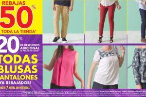 Suburbia hasta 50% de descuento + 20% adicional en blusas y pantalones