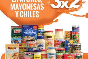 Temporada Naranja La Comer 3×2 en atunes, mayonesas y chiles