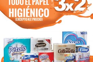 Temporada Naranja La Comer 3×2 en papel higiénico del 19 al 22 Junio