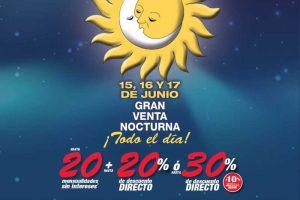 Venta Nocturna Sears del 15 al 17 de Junio de 2017