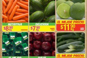Bodega Aurrera Frutas y Verduras Tiánguis de Mamá Lucha del 28 de Julio al 3 de Agosto