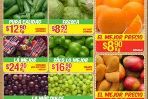 Bodega Aurrera frutas y verduras tiánguis de mamá lucha del 7 al 13 de julio