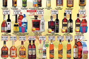 Bodegas Alianza ofertas de vinos y licores del 4 al 16 de Julio 2017
