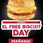 Carl's Jr Biscuit Gratis en Nuevo Leon, Coahuila y Guanajuato 27 de Julio
